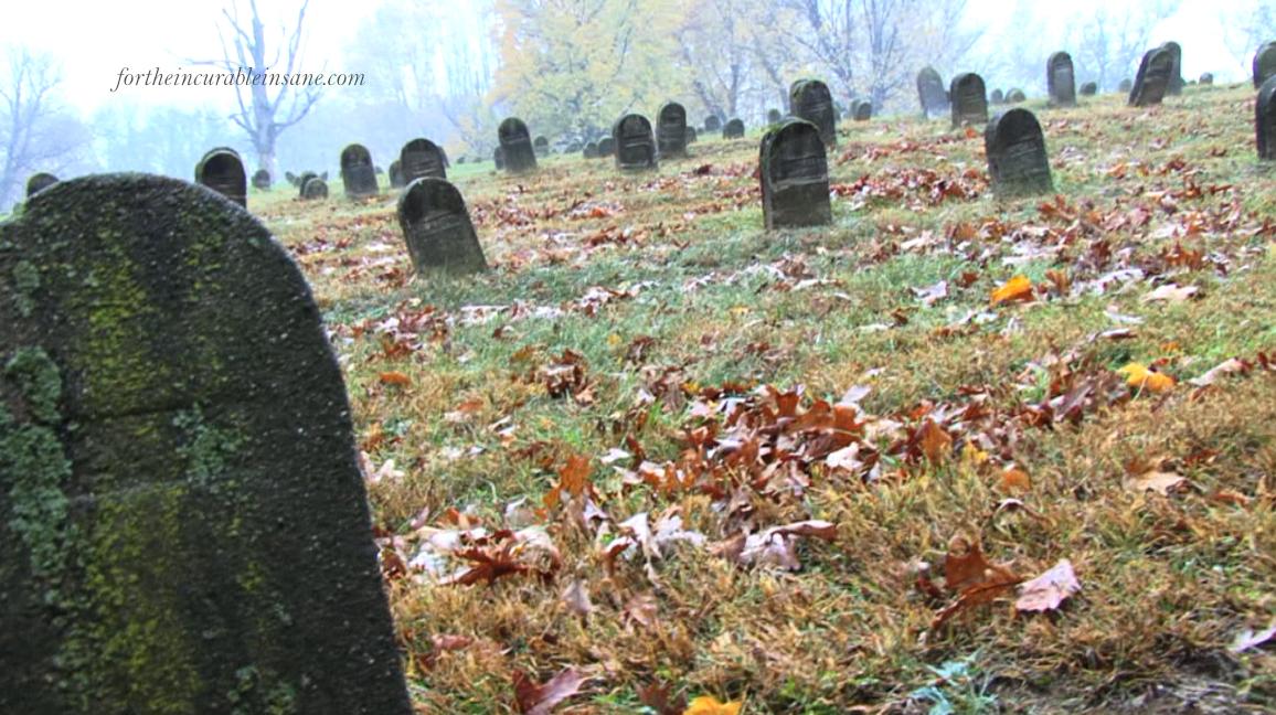FTII Still: Cemetery III fog